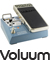Analogue Volume Effects Stomp Box for Guitar and Bass